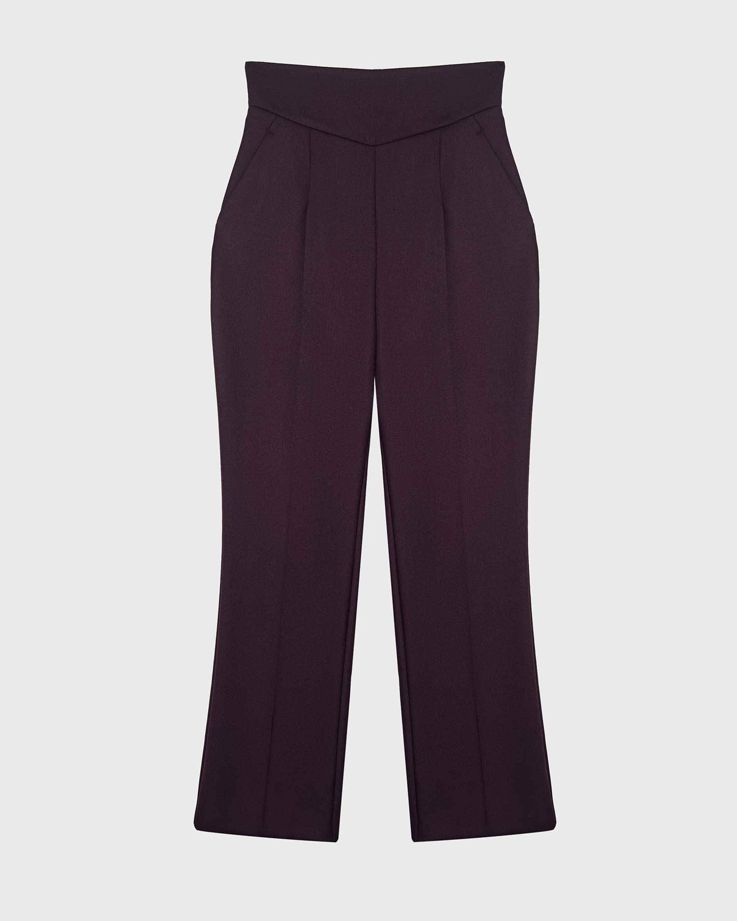 Costume high-waisted pants