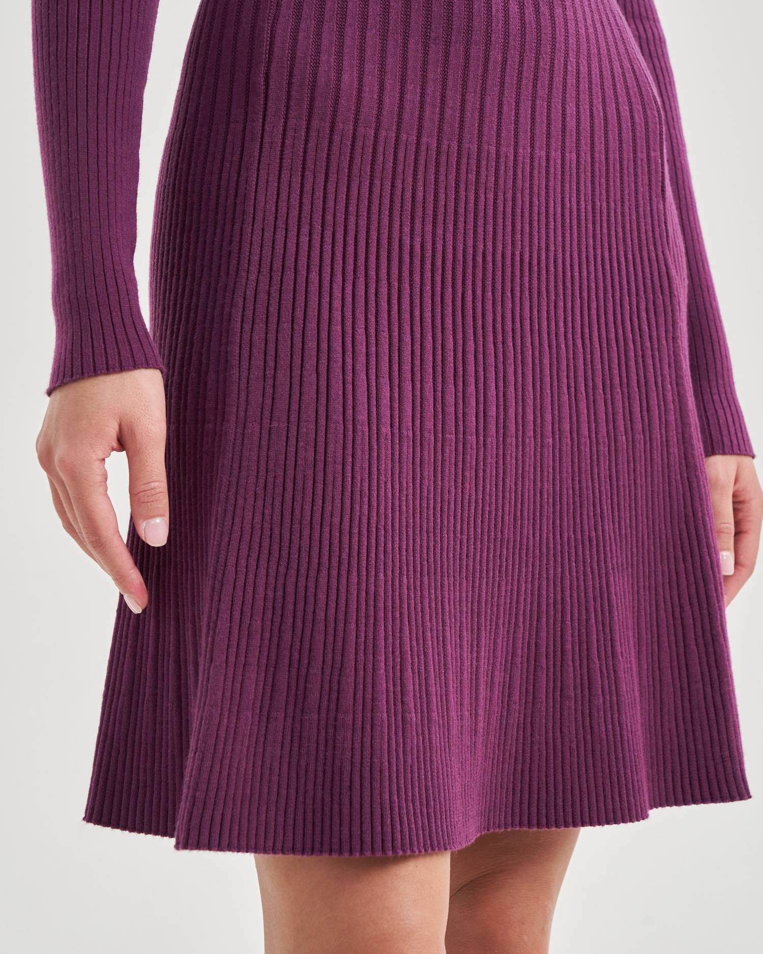 Knit mini dress