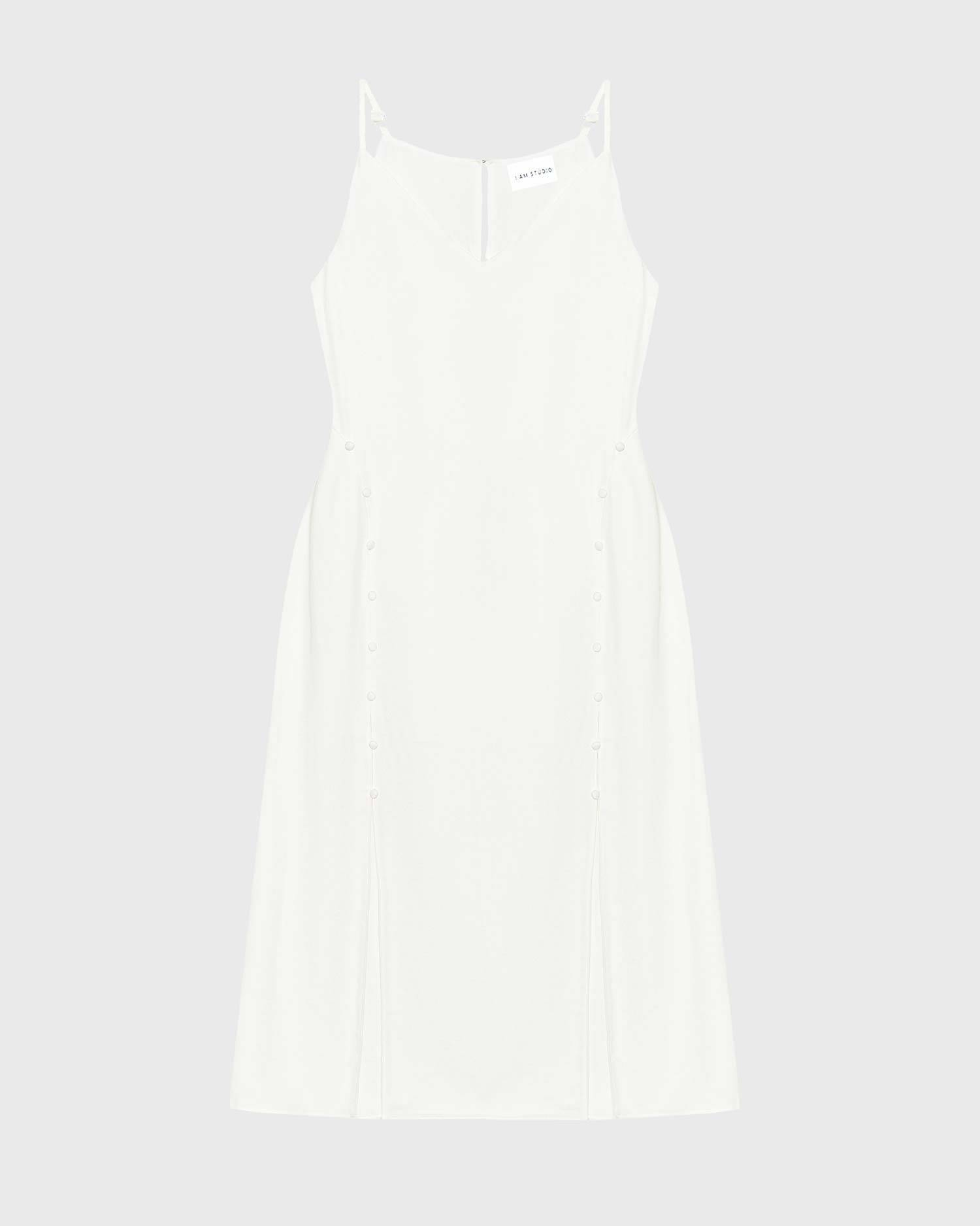 Cut-out slip dress