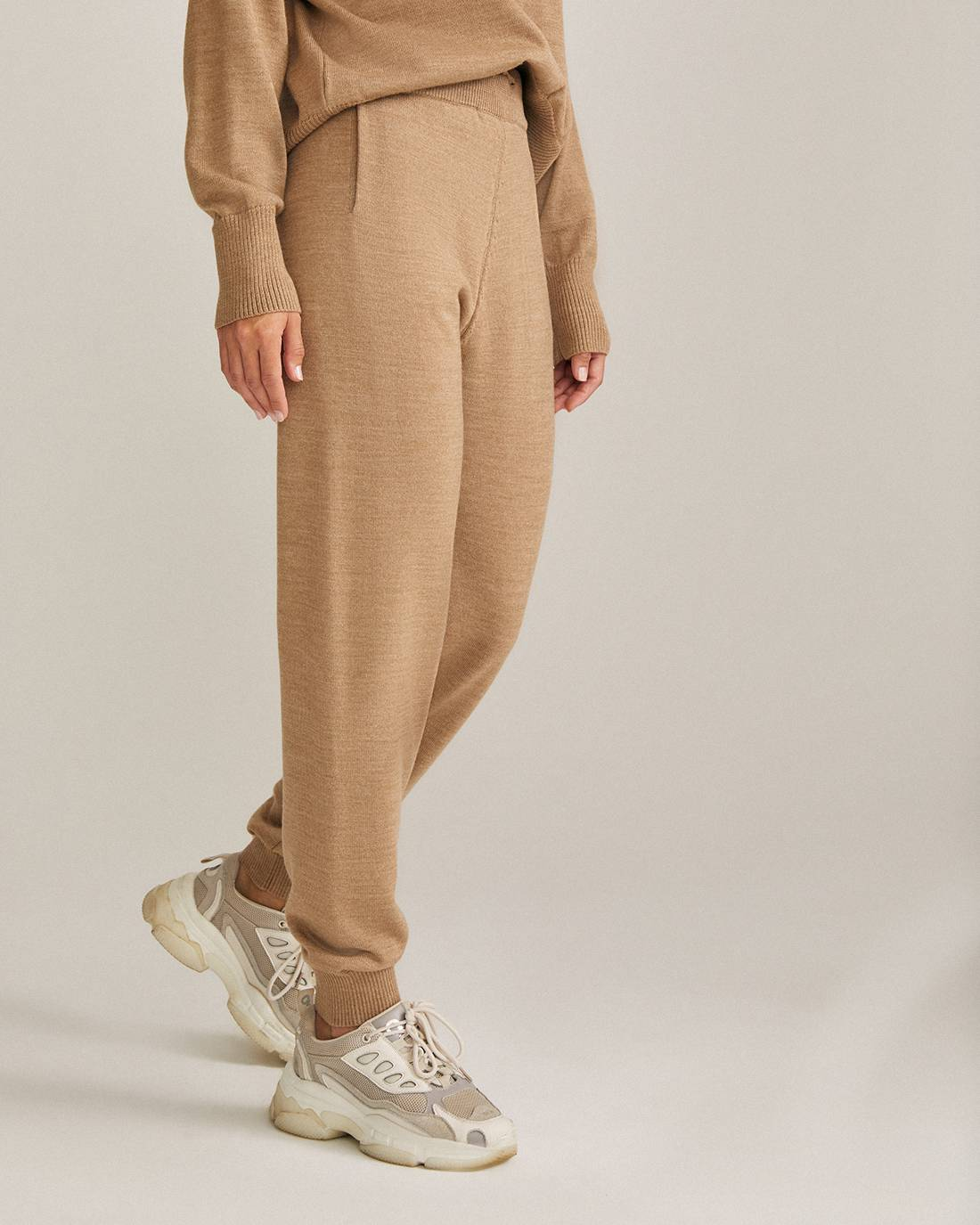 Merino wool jogging pants