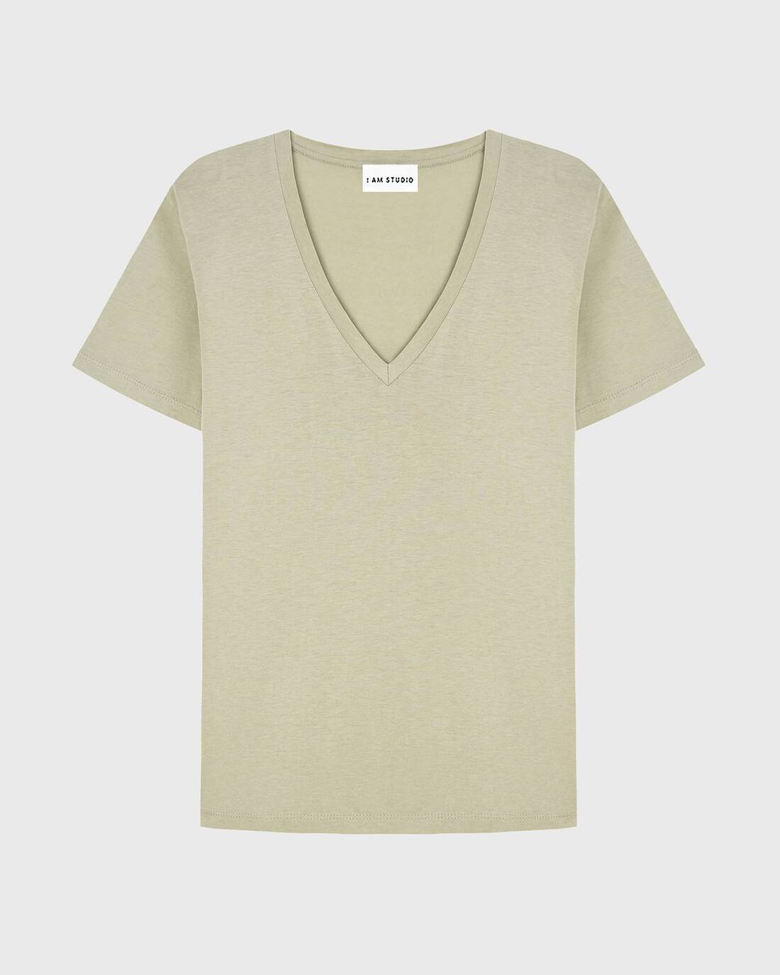 Basic V neckline t-shirt