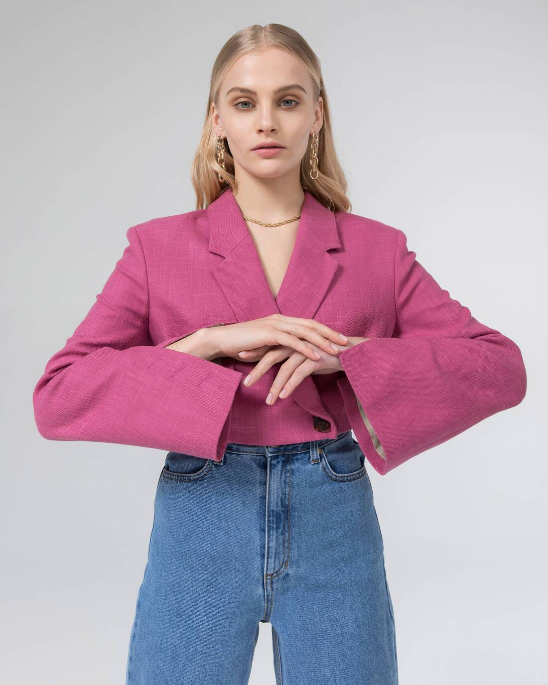 Cropped costume jacket