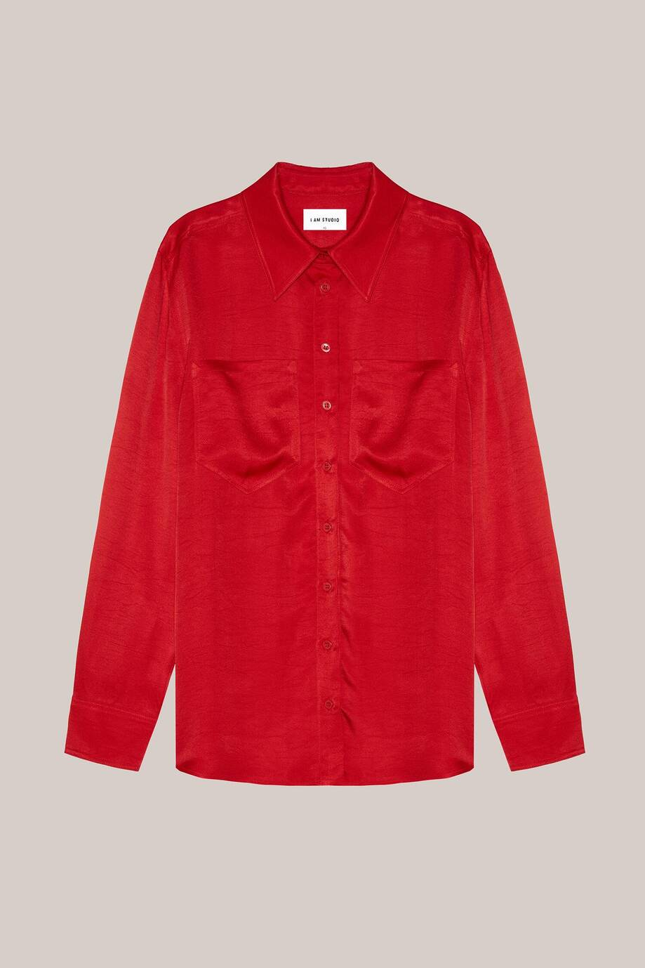 Men's-cut shirt with chest pockets