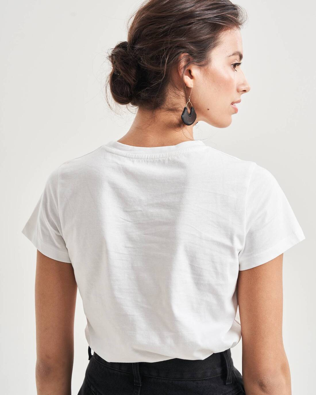 Embroidered slim t-shirt