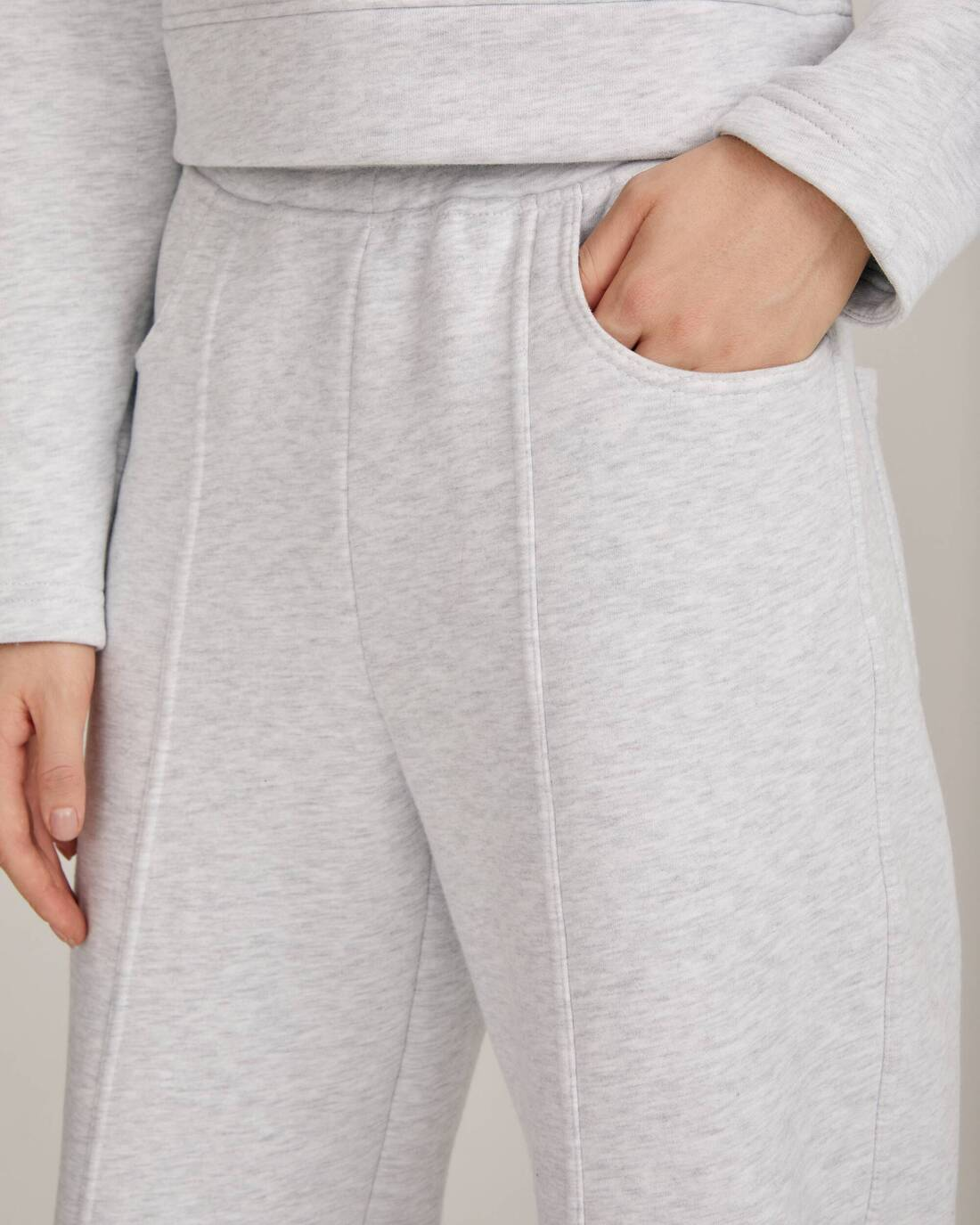 Joggers with elasticated waistband