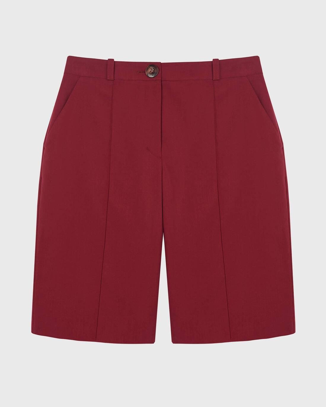 Costume pleated shorts