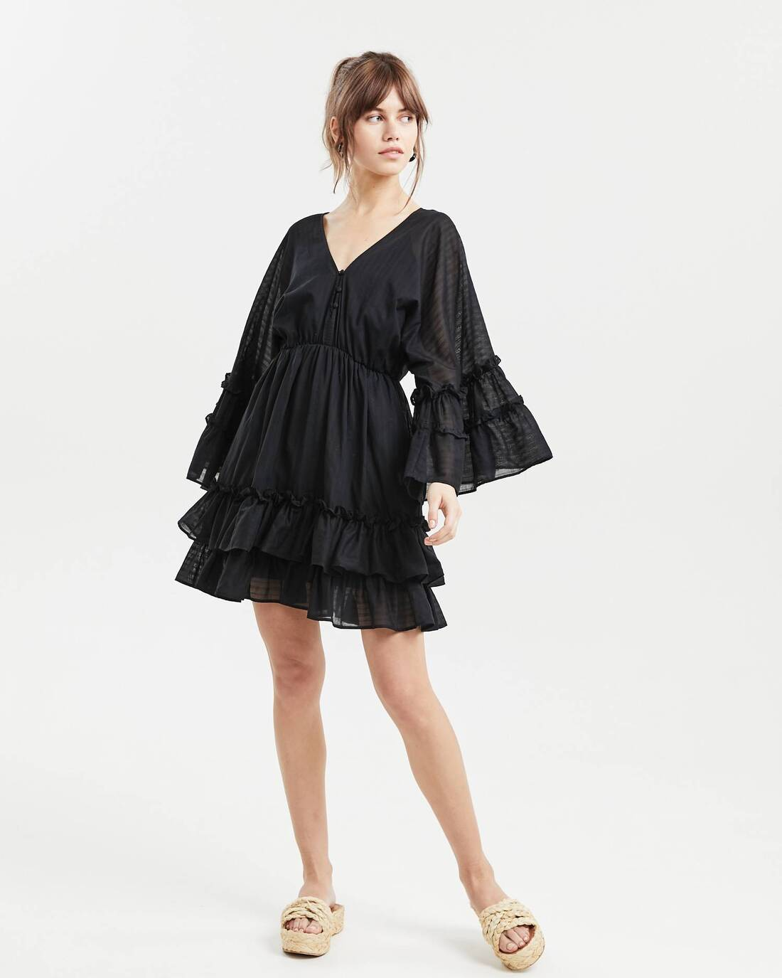 Ruched loose dress
