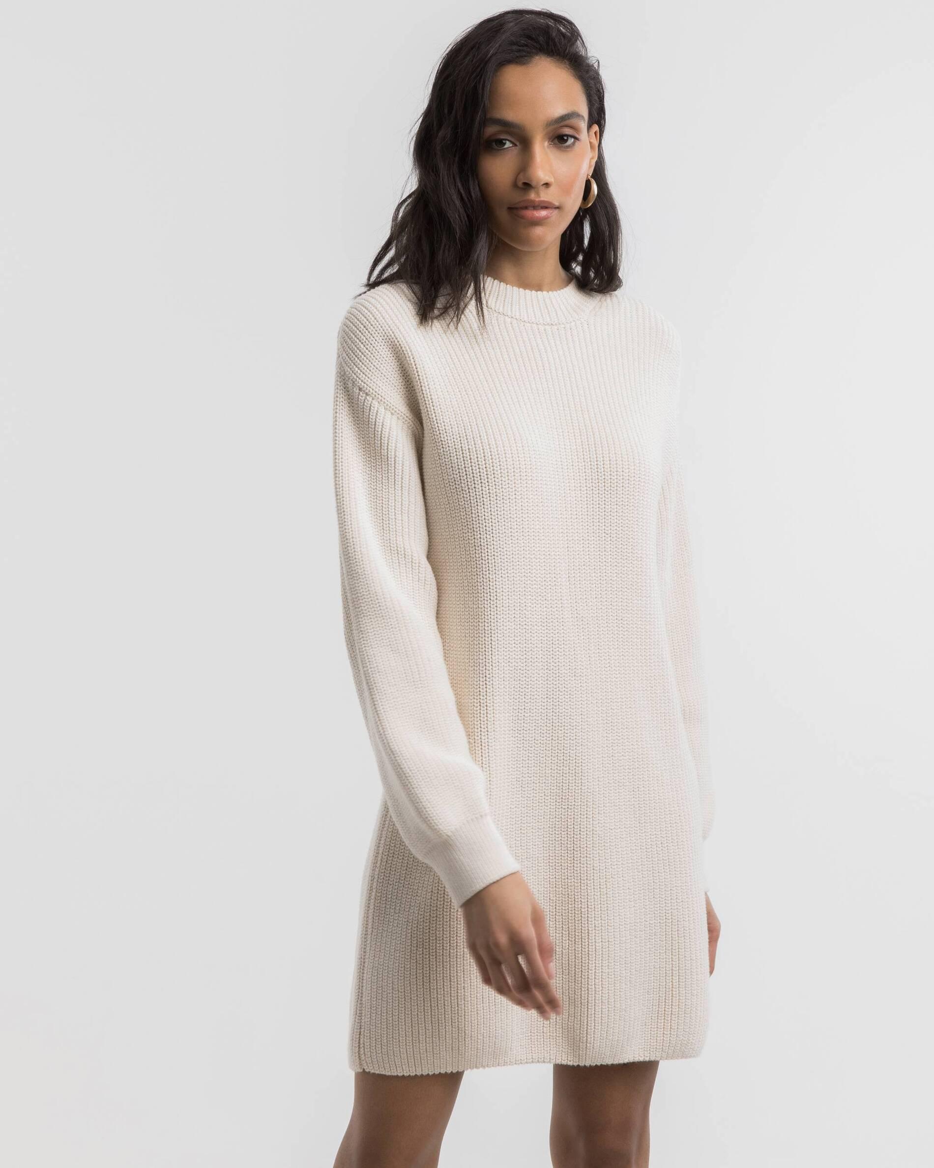 Oversize knit dress